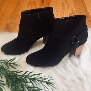 🌹Cole Haan Grande Os Black Leather Booties Size 8